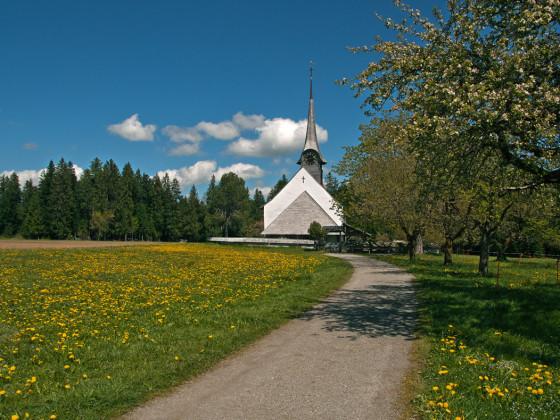 Die Kirche von Würzbrunnen