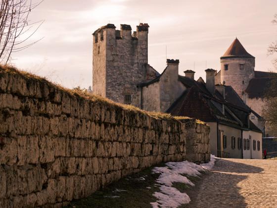 Stimmung auf der Burg