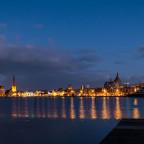Hansestadt am Abend