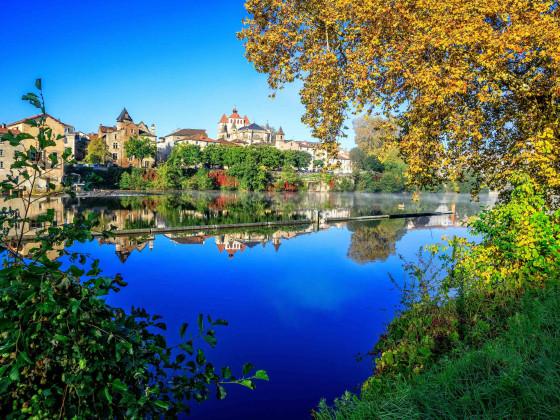 Cahors im Herbst