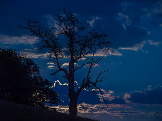 Wolken Silouetten
