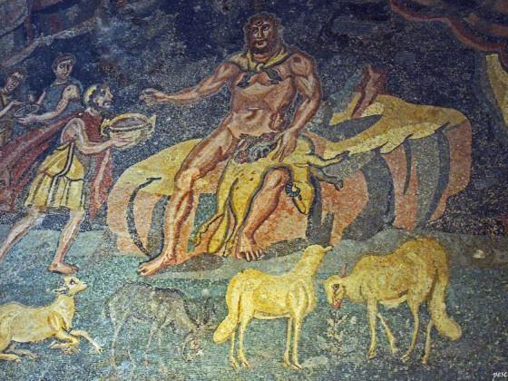 Römisches Mosaik