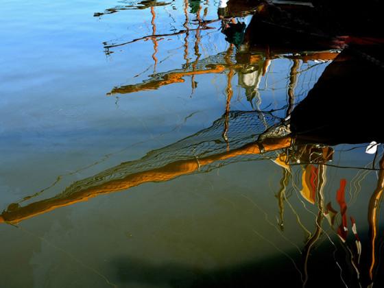 Zeesbootregatta - Spiegelung