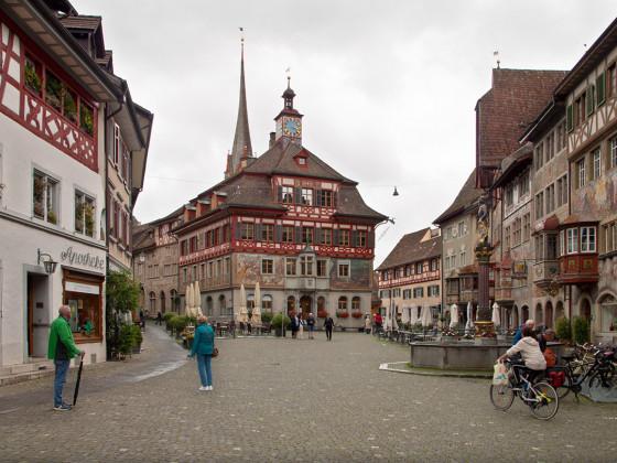 Das Städtchen Stein am Rhein