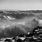 Die Wellen sind da