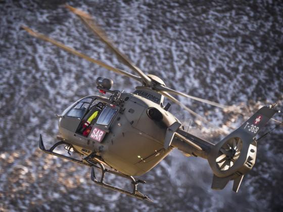 Fliegerschiessen Axalp Eurocopter