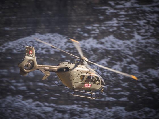 Fliegerschiessen Axalp 2017 Eurocopter
