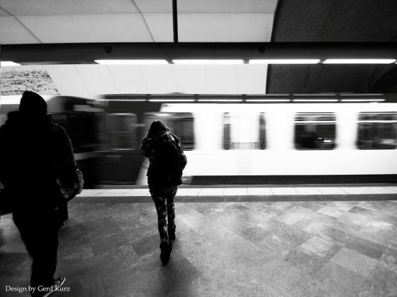 Der unbekannte hinter mir.....