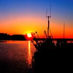Abend im Yachthafen