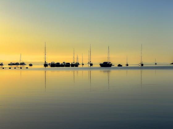 Goldene Stunde auf Elba