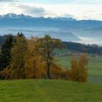 Sicht auf Berneralpen