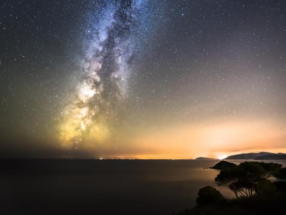 Milky Way Insel Elba