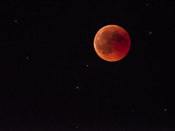 Blutmond (volle Mondfinsternis)