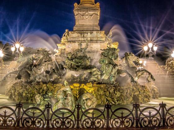 Fontaine des Girondins - Bordeaux