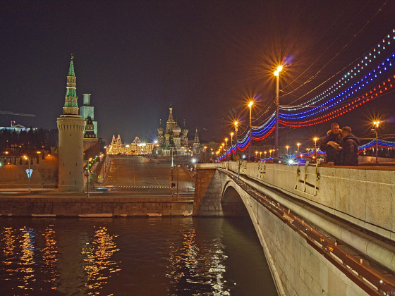 Большой Москворецкий мост  -  Grosse Moskwa Brücke