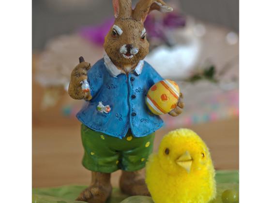 Allen zusammen ein Schönes Osterfest
