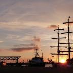 Abendstimmung im Hafen