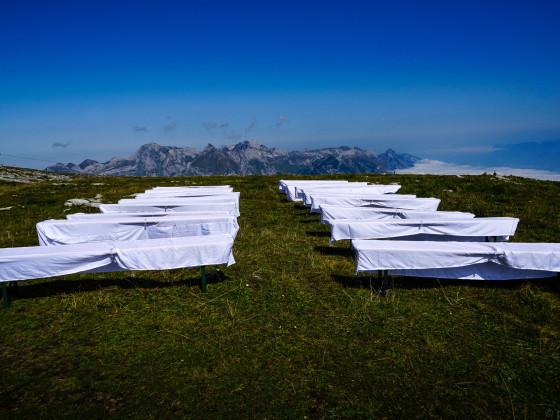 Wäschetrockner auf der Alp?