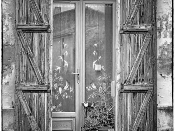 Eine Türe in der Provence