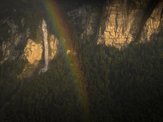 Regenbogenausschnitt