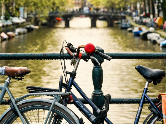bicycle and gracht