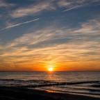 Wenn die Sonne im Meer versinkt ...