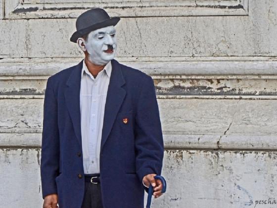 Strassenkünstler in Venedig