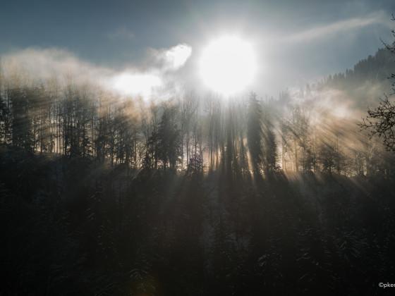 Nebel und Sonne 3
