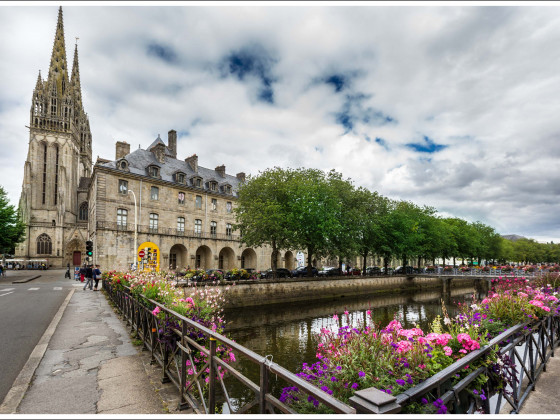 Quimper, in der Bretagne