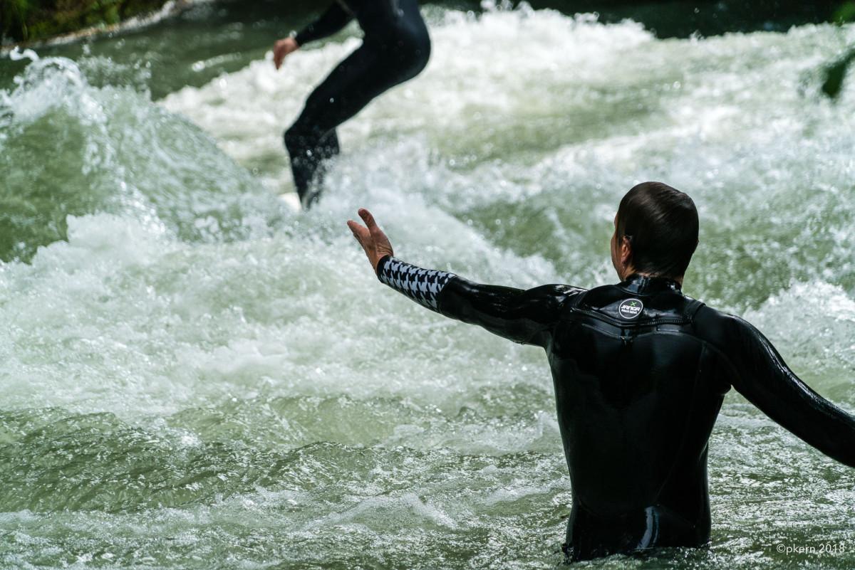 Surfen im Eisbach München
