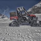 Snow Mobil auf dem Jungfraujoch